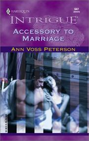 Cover of: Accessory To Marriage | Ann Voss Peterson
