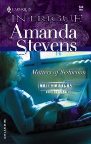 Matters of seduction PDF