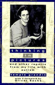 Cover of: Thinking in pictures by Temple Grandin