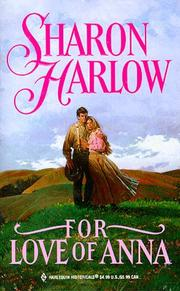 Cover of: For Love Of Anna | Harlow
