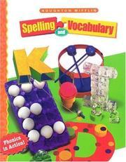Houghton Mifflin Spelling and Vocabulary PDF