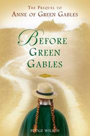 Before Green Gables PDF