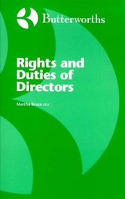 Rights and Duties of Directors PDF