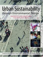 Urban Sustainability Through Environmental Design PDF