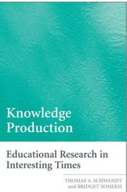 Knowledge Production PDF