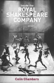 Inside the Royal Shakespeare Company PDF