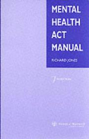 Mental Health Act Manual PDF