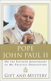 Dono e mistero by Pope John Paul II