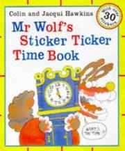Mr. Wolf's Sticker Ticker Time with Sticker PDF