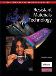 GCSE Resistant Materials Technology for Edexcel (GCSE Design & Technology for Edexcel) PDF