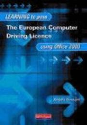 Learn to Pass European Computer Driving Licence Using Office 2000 PDF