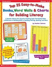 Top 25 Easy-To-Make Books, Word Walls and Charts for Building Literacy PDF