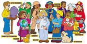 Community Helpers! Bulletin Board PDF