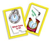 Telling Time! Flip-Open Flash Cards PDF