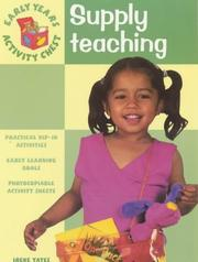 Supply Teaching (Early Years Activity Chest) PDF