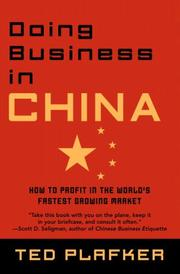 Doing Business In China by Ted Plafker