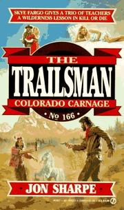 Trailsman 166 by Jon Sharpe, David Robbins