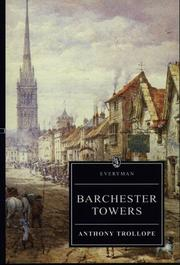 Cover of: Barchester Towers by Anthony Trollope, Hugh Osborne, David Skilton
