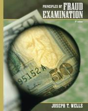 Principles of Fraud Examination by Joseph T. Wells