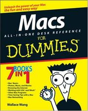 Macs All-in-One Desk Reference For Dummies (For Dummies (Computer/Tech)) PDF