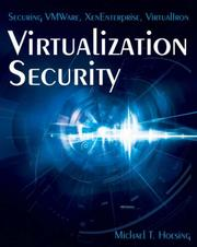 Virtualization Security PDF