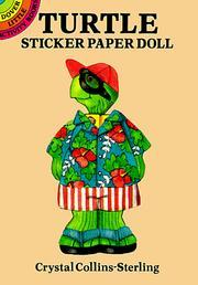 Turtle Sticker Paper Doll PDF