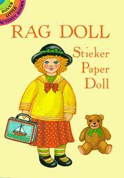 Rag Doll Sticker Paper Doll PDF