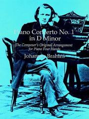 Piano Concerto No. 1 In D Minor by Brahms, Johannes