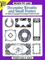 Ready-to-Use Decorative Wreaths and Small Frames (Clip Art PDF