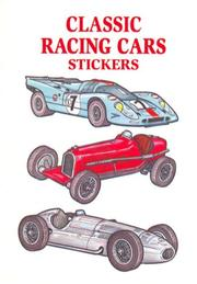 Classic Racing Cars Stickers PDF