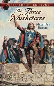 Cover of: The Three Musketeers (Thrift Edition) by Alexandre Dumas