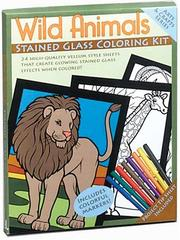 Wild Animals Stained Glass Coloring Kit PDF