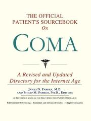 The Official Patient's Sourcebook on Coma PDF