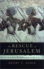 The Rescue of Jerusalem by Henry Trocme Aubin