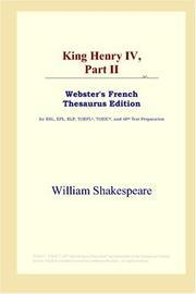 King Henry IV, Part II PDF