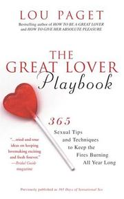 The great lover playbook PDF