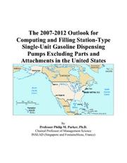 The 2007-2012 Outlook for Computing and Filling Station-Type Single-Unit Gasoline Dispensing Pumps Excluding Parts and Attachments in the United States PDF