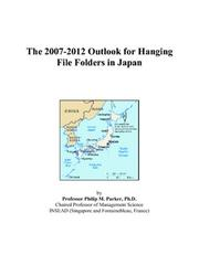 The 2007-2012 Outlook for Hanging File Folders in Japan PDF