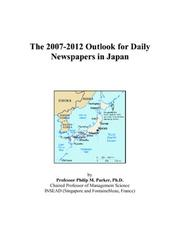 The 2007-2012 Outlook for Daily Newspapers in Japan PDF