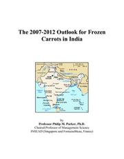 The 2007-2012 Outlook for Frozen Carrots in India PDF