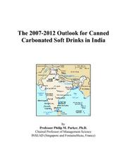 The 2007-2012 Outlook for Canned Carbonated Soft Drinks in India PDF