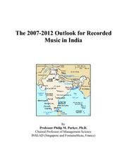 The 2007-2012 Outlook for Recorded Music in India