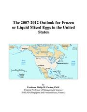 The 2007-2012 Outlook for Frozen or Liquid Mixed Eggs in the United States PDF