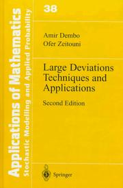 Large deviations techniques and applications PDF