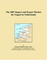The 2007 Import and Export Market for Yogurt in Netherlands PDF