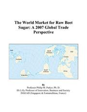 The World Market for Raw Beet Sugar PDF