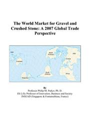 The World Market for Gravel and Crushed Stone PDF