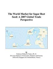 The World Market for Sugar Beet Seed PDF