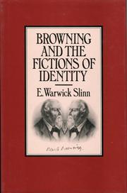 Browning and the fictions of identity PDF
