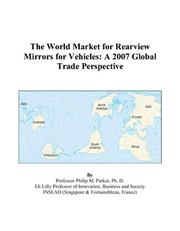 The World Market for Rearview Mirrors for Vehicles PDF